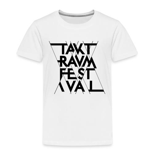 ttf logo schwarz - Kinder Premium T-Shirt