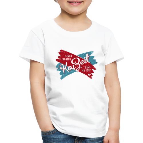Koi Zeit - Kinder Premium T-Shirt