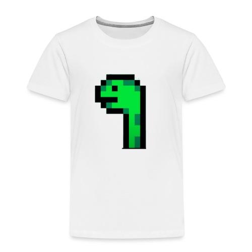 Pixel Logo - Kinder Premium T-Shirt