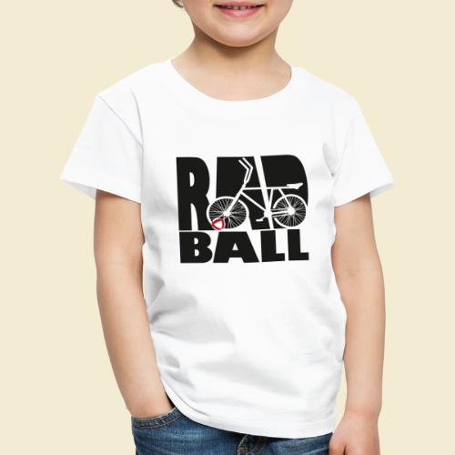Radball | Typo Black - Kinder Premium T-Shirt