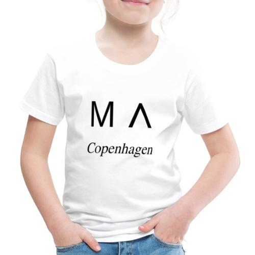 MA Copenhagen - Børne premium T-shirt