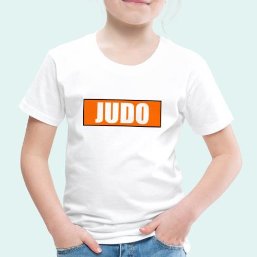 Judo Orange 5. Kyu - Kinder Premium T-Shirt