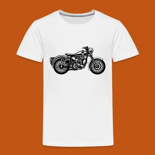 Motorrad / Classic Motorcycle 04_schwarz - Kinder Premium T-Shirt