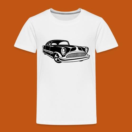 Lowrider / Oldtimer / Muscle Car 03_schwarz - Kinder Premium T-Shirt