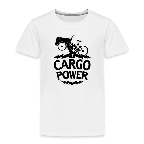 Lastenrad Cargo Power - Kinder Premium T-Shirt