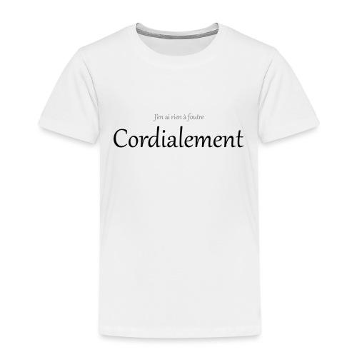 Cordialement - T-shirt Premium Enfant