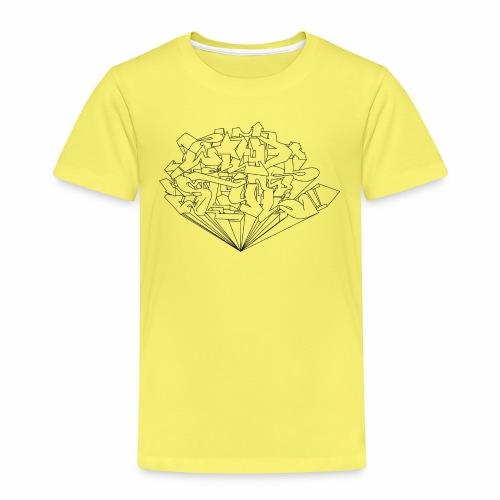 wild style ver01 Trick Aod - Børne premium T-shirt