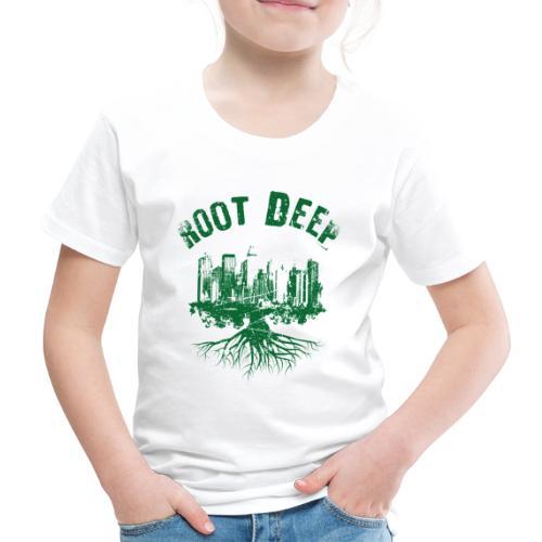 Root deep Urban grün - Kinder Premium T-Shirt