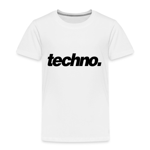 techno. - Kinder Premium T-Shirt