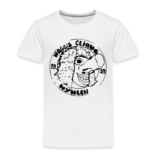 Foto3 4 Logo 80er Kontur - Kinder Premium T-Shirt