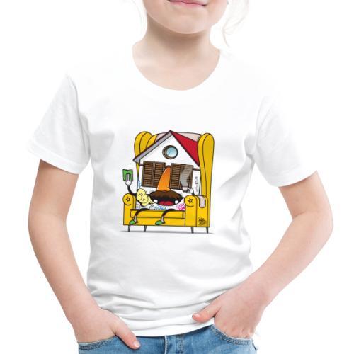 STAILA EDF CREW X iorestoacasaArtistiUniti - Maglietta Premium per bambini