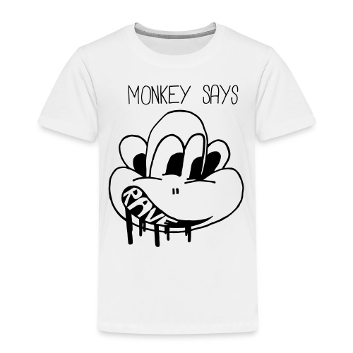 Monkey Says Rave - Kids' Premium T-Shirt