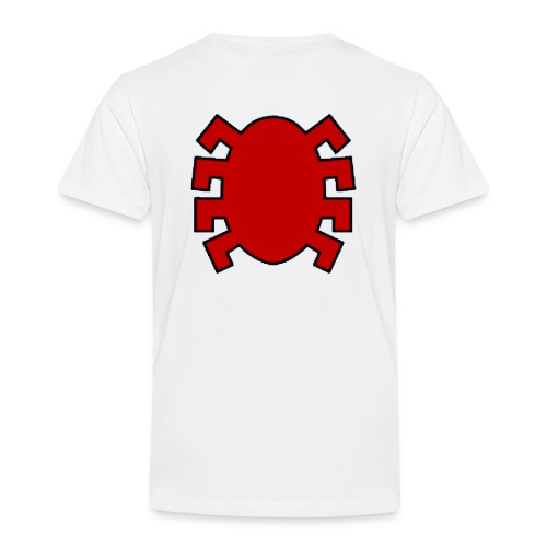 spiderman back - Kids' Premium T-Shirt