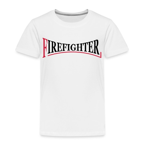 Fire Fighter Logo - Kinder Premium T-Shirt