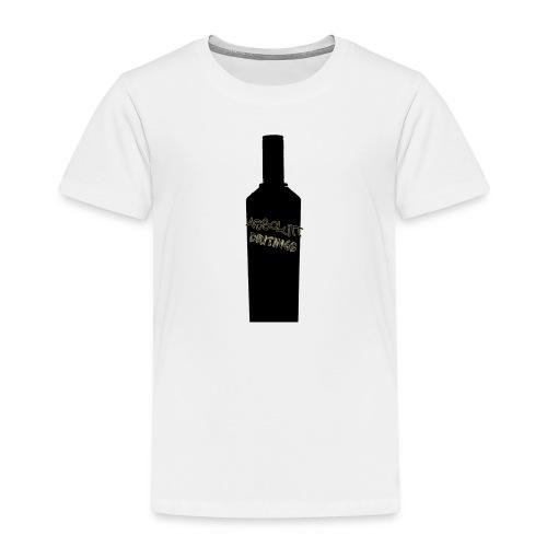 flaske forran - Premium T-skjorte for barn