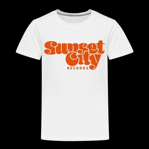 Sunset City Records Logo - Kids' Premium T-Shirt