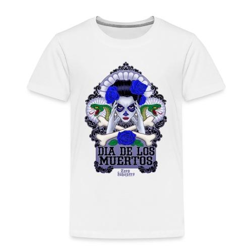 DIA DE LOS MUERTOS - Lasten premium t-paita