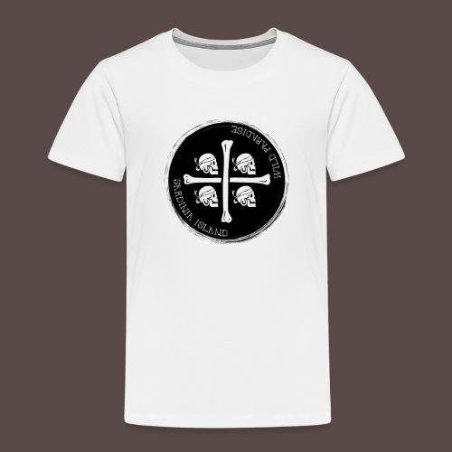 Sardegna Quattro Mori Pirata - Maglietta Premium per bambini