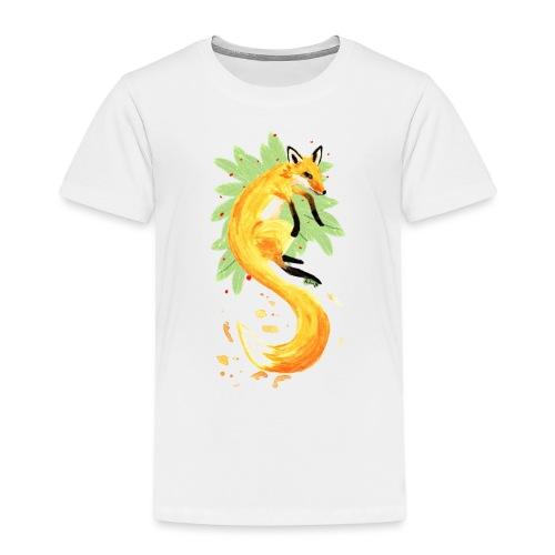 Spring of Fox - Kids' Premium T-Shirt
