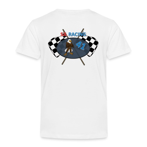 SJL-Racing logo - Kinderen Premium T-shirt