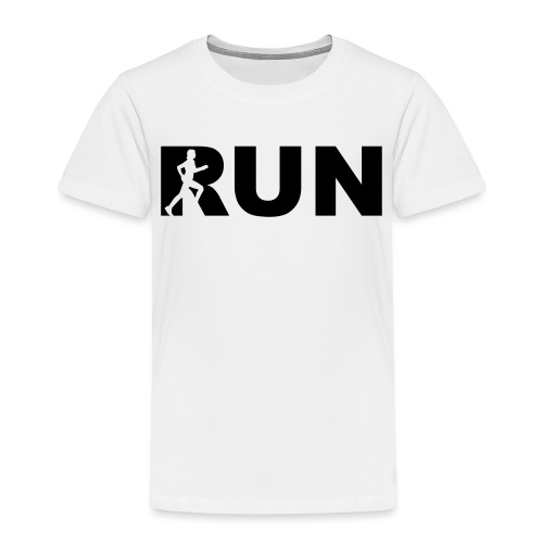 run running woman - Kinder Premium T-Shirt