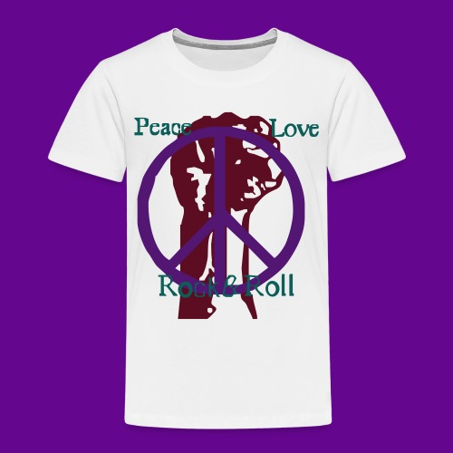 Peace Love Rock'n Roll - T-shirt Premium Enfant