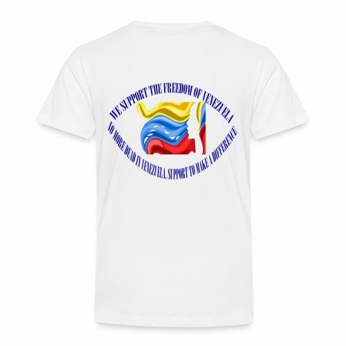 Venezuela I support you - Kids' Premium T-Shirt