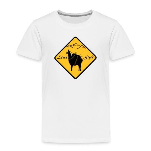 Lama Style snow - T-shirt Premium Enfant