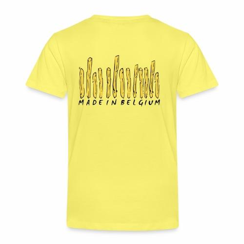 Made In Belgium Frites - T-shirt Premium Enfant