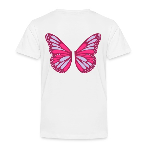Butterfly Wings - Premium-T-shirt barn