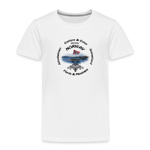 Norway t-shirt Black - Kinder Premium T-Shirt