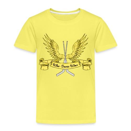 Who Saves Wins, Hockey Goalie - Kids' Premium T-Shirt