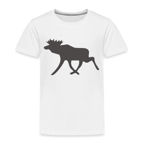 Schwedenelch; schwedisches Elch-Symbol (vektor) - Kinder Premium T-Shirt