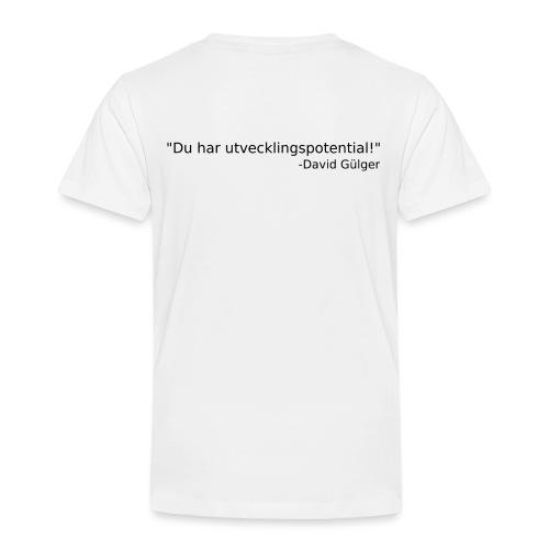 Ju jutsu kai förslag 1 version 1 svart text - Premium-T-shirt barn