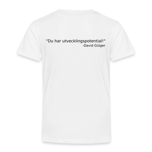 Ju jutsu kai förslag 1 version 1 svart text - Premium-T-shirt barn