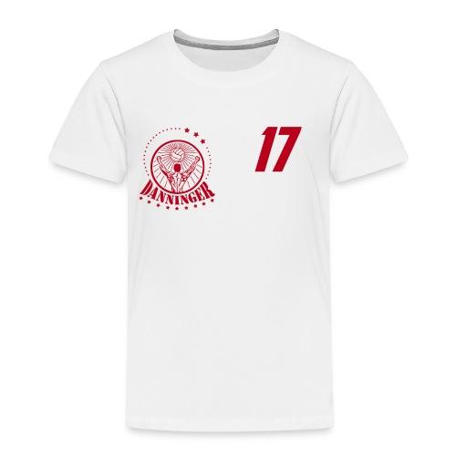 Nummer Logo rot - Kinder Premium T-Shirt