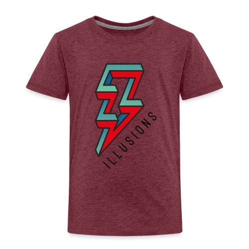 ♂ Lightning - Kinder Premium T-Shirt