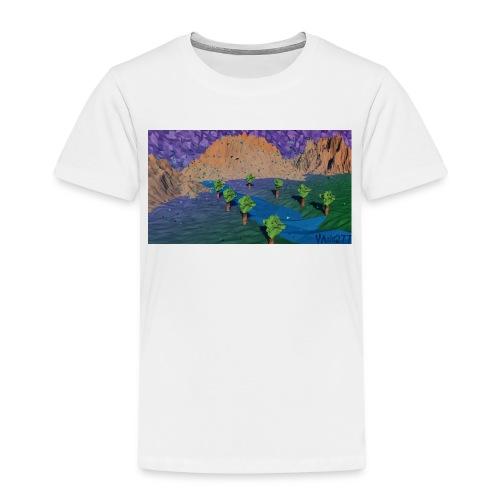 Silent river - Kids' Premium T-Shirt