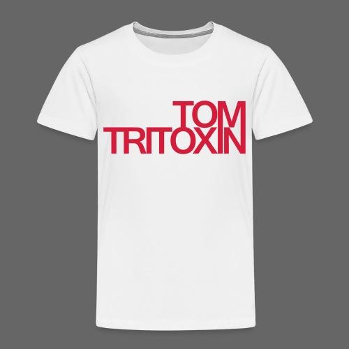 TOM TRITOXIN LONGSHIRT Black - Kinder Premium T-Shirt