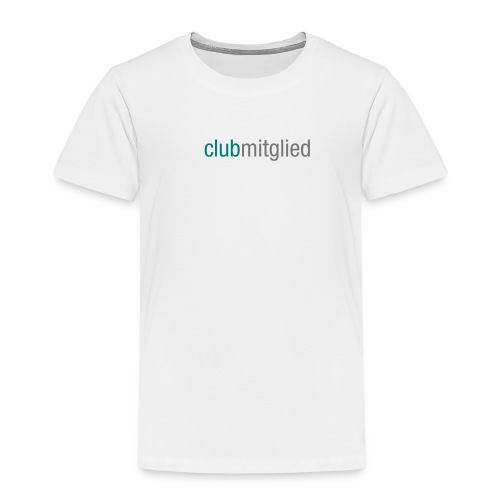 CC_clubmitglied_aufweiss - Kinder Premium T-Shirt