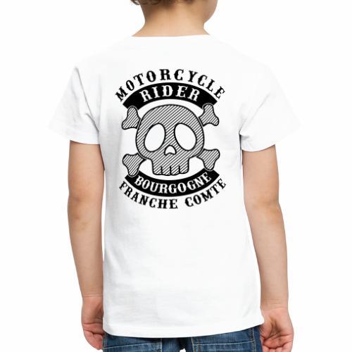 Motorcycle Rider Bourgogne-Franche-Comté - T-shirt Premium Enfant