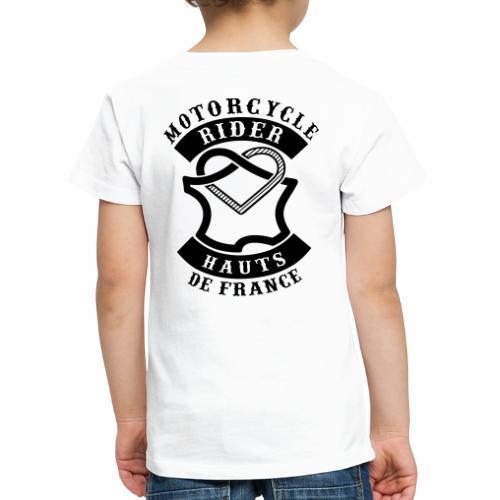 Motorcycle Rider Hauts-de-France 'Flag' - T-shirt Premium Enfant