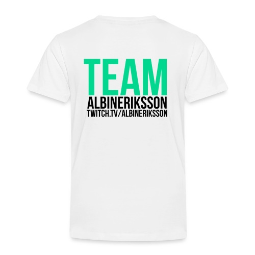 Team albinerikss0n Svart - Premium-T-shirt barn