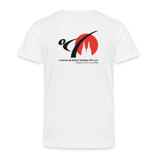 Fanshop_Logo_Karate_Ag - Kinder Premium T-Shirt