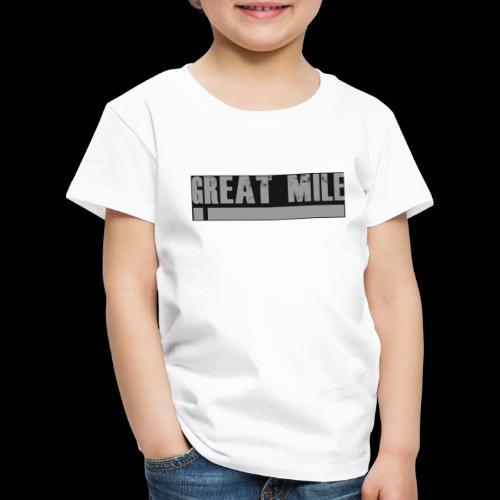 great mile black - Kinder Premium T-Shirt