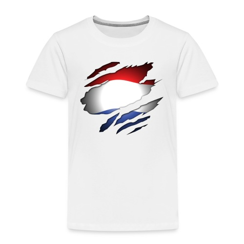 Dutch Inside: Vlag - Kinderen Premium T-shirt