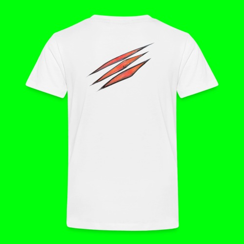 3d scratches - Kinder Premium T-Shirt