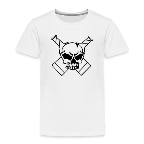 Skull png - Kinder Premium T-Shirt