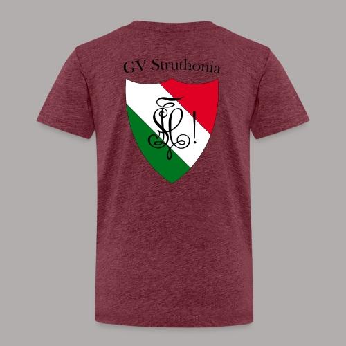 Wappen Struthonia beschriftet - Kinder Premium T-Shirt