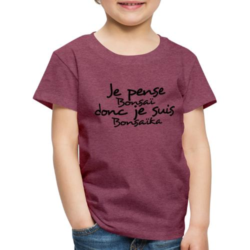 je_pense_donc_je_suis - T-shirt Premium Enfant